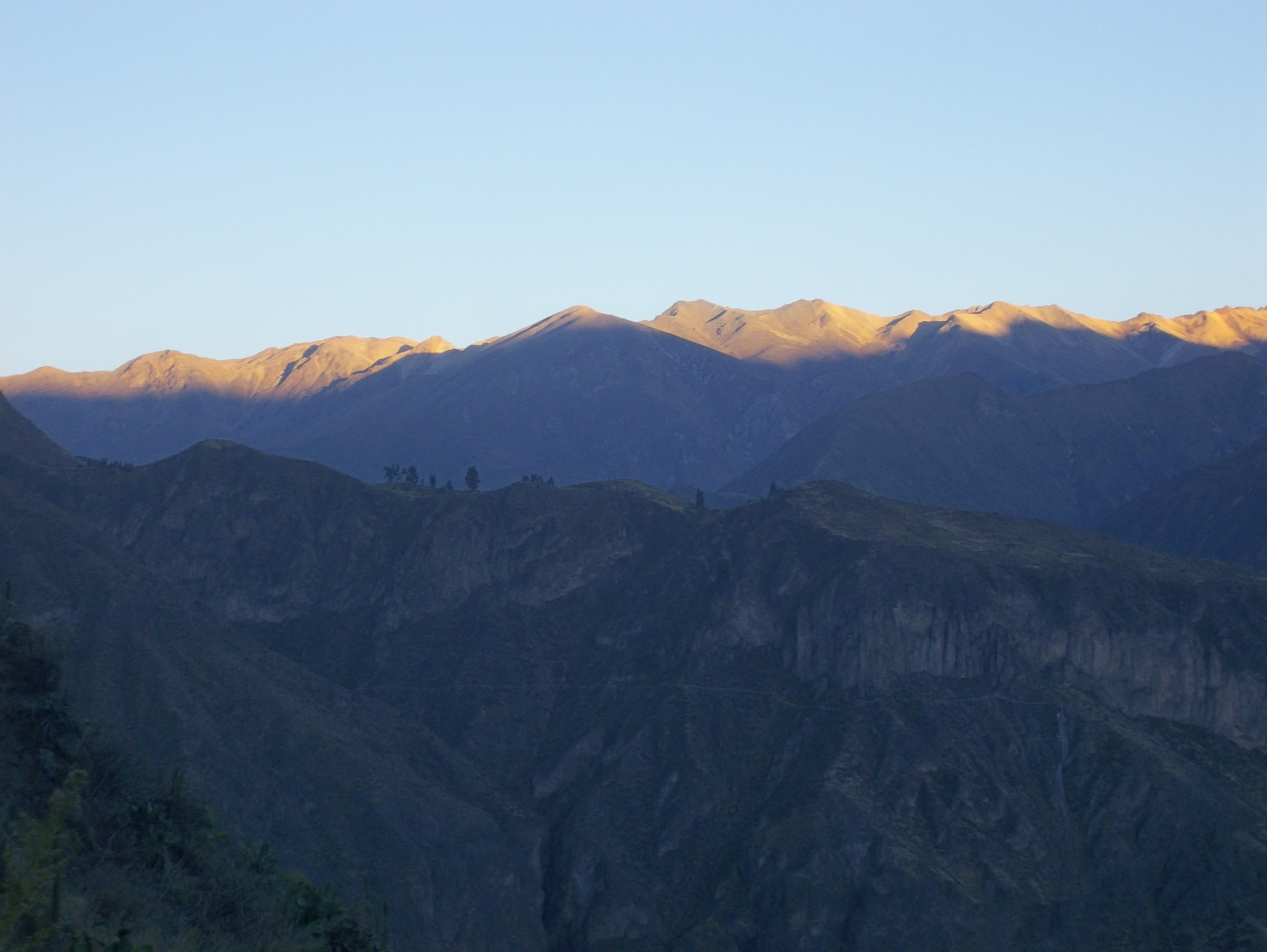 Colca Cnyon - Early in the Morning- Peru Trips - Peru Breathtaking Trips